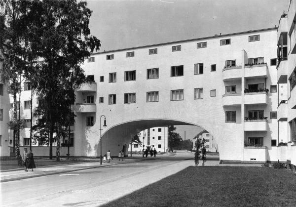 Berlin, Siemensstadt, Teilansicht / Foto - Berlin / Siemensstadt / Photo / c.1935 - Berlin, Siemensstadt, Vue part. / Photo